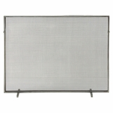 Adriana Fireplace Screen | Zinc