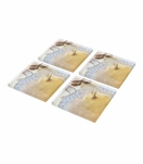 Agoura Lucite Coasters Set | Natural