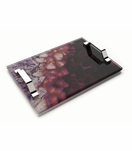 Agoura Lucite Tray | Amethyst