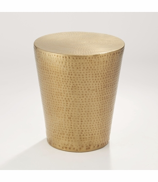 Akila Side Table | Brass