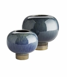 Alberta Ceramic Vases Set