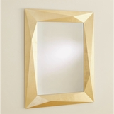 Aldus Gold Faceted Mirror