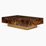 Alejandro Marquetry Coffee Table