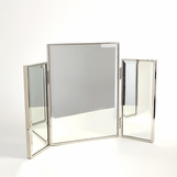 Alfie Vanity Mirror | Nickel