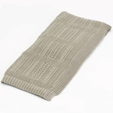 Alpine Woven Cotton Throw | Beige