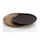 Alsatian Round Wood Trays