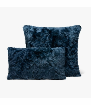 Andes Alpaca Pillows | Navy