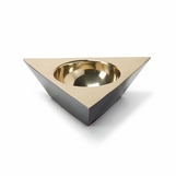 Anko Brass Bowl | Triangular