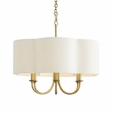 Annette Chandelier | Brass