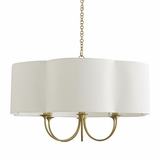 Annette Grand Chandelier | Brass