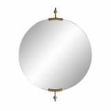 "Antonio ""Floating"" Round Mirror 