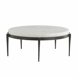 Apollo Coffee Table | White Marble
