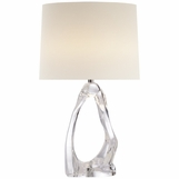 Arches Table Lamp | Clear Glass