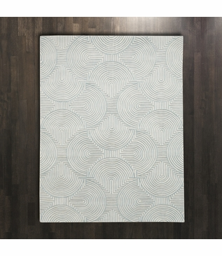 Archon Wool Rugs   Blue
