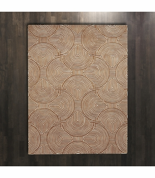 Archon Wool Rugs | Orange