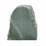 Arkan Bookends | Green Quartz
