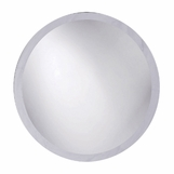 Arlen Frameless Wall Mirrors | Round