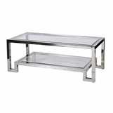 Artemis Coffee Table | Nickel