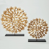 Asteroid Sculpture | Gold