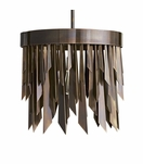 Astoria Pendant | Burnished Brass