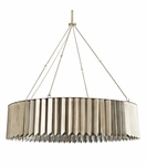 Astoria Round Chandelier | Antique Silver