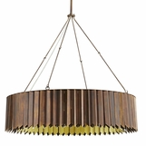 Astoria Round Chandelier | Burnished Brass