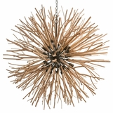 Atticus Wood Chandelier | Natural