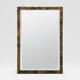 Auckland Wall Mirrors | Brown Shell