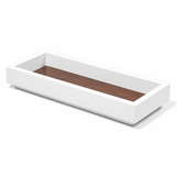 Aura Small Lacquer Tray | Walnut