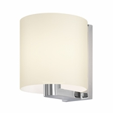 Ava Wall Sconce | White