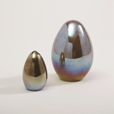 Aviary Glass Eggs | Iridescent
