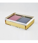Babst Playing Card Box | Gold