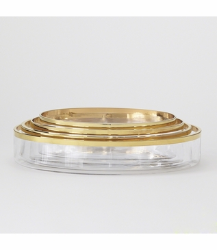 Babylon Set of 4 Bowls | Gold