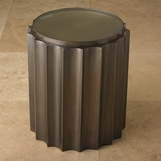 Baluster Side Table | Bronze