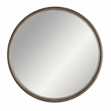 Bandito Oversized Round Wood Mirror