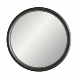 Bandito Round Wood Mirror
