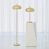 Banks Floor Lamp | Brass