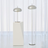 Banks Floor Lamp | Nickel