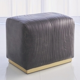Barker Leather Stool