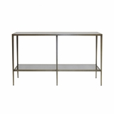 Barnaby Console Table | Bronze