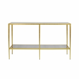 Barnaby Console Table | Gold