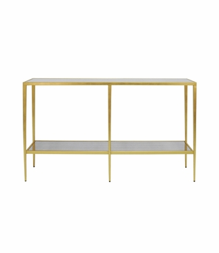 Barnaby Console Table   Gold