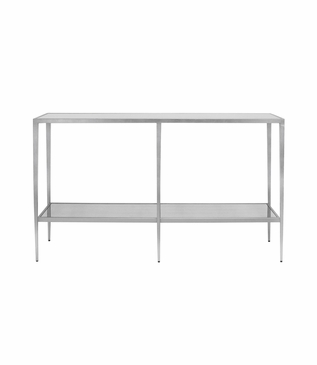 Barnaby Console Table   Silver