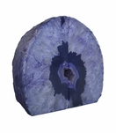 Barrick Agate Bookends | Purple