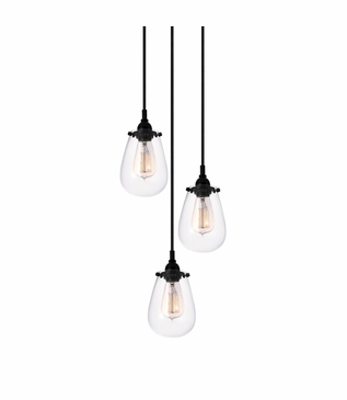 Barstow Pendant | 3-Light