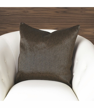 Bartel Bronze Beaded Pillow
