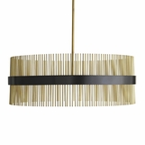 Baze Chandelier | Bronze & Brass
