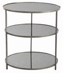 Bel Air Large Side Table | Zinc