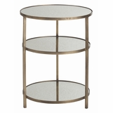 Bel Air Small Side Table | Brass