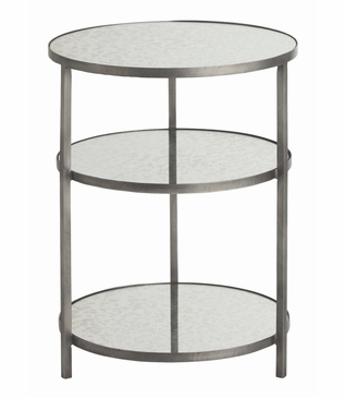 Bel Air Small Side Table | Zinc